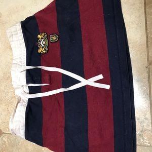 Cute Ralph polo lauren striped mini skirt